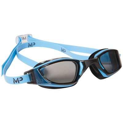 MP Michael Phelps Xceed Swimming Goggles-Tinted Lens-Blue/Black