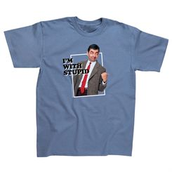 Mr Bean Im With Stupid T-Shirt