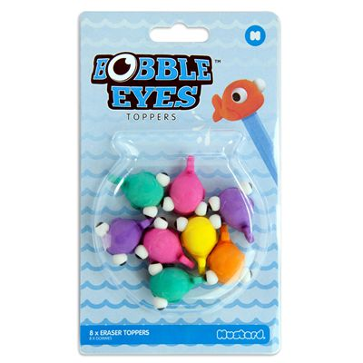 Mustard Bobble Eyes Eraser Toppers-Packaging