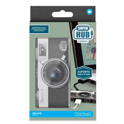 Mustard Camera Super Hub 4 Ports USB Hub-Box
