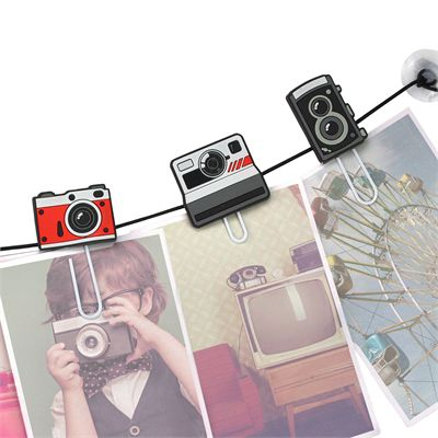 Mustard ClipIt Cameras Picture Hangers - Image 2