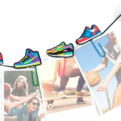 Mustard ClipIt Sneakers Picture Hangers Image 1