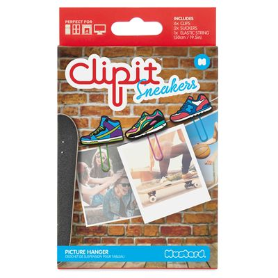Mustard ClipIt Sneakers Picture Hangers Image 2