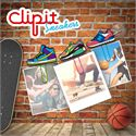 Mustard ClipIt Sneakers Picture Hangers Main Image