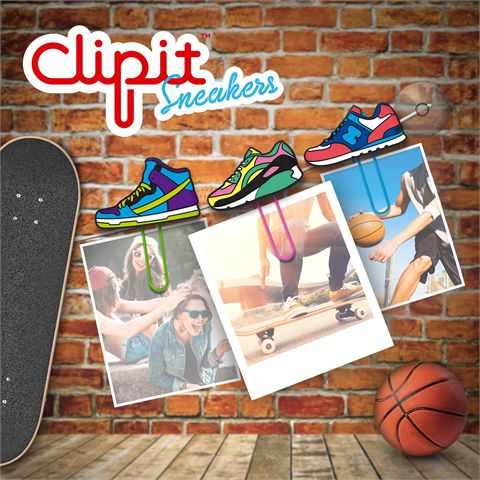 Mustard ClipIt Sneakers Picture Hangers