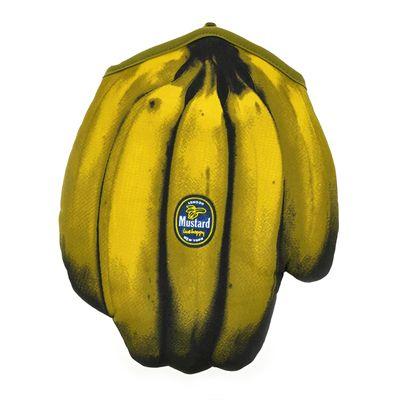 Mustard Cool Bananas Pop Art Inspired Oven Glove