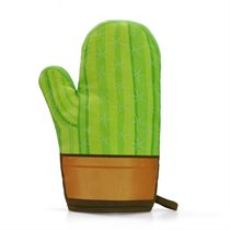 Mustard Cool Cactus Shaped Oven Glove