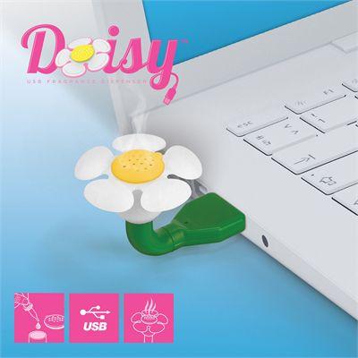 Mustard Daisy USB Fragrance Dispenser-Main Image