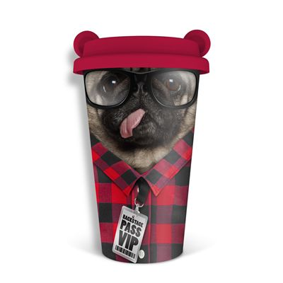 Mustard Dog Coffee Crew Reusable Coffee Cup