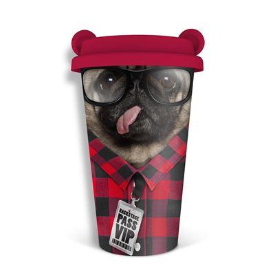 Mustard Dog Coffee Crew Reusable Coffee Cup