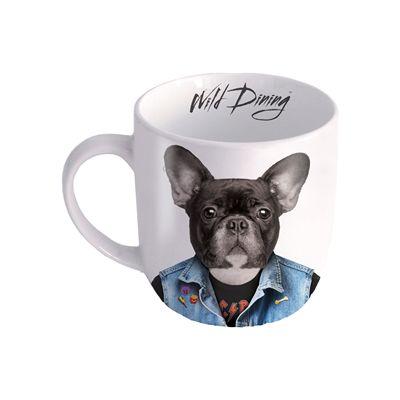 Mustard Dog Wild Dining Mug