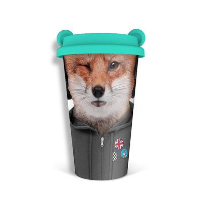 Mustard Fox Coffee Crew Reusable Coffee Cup