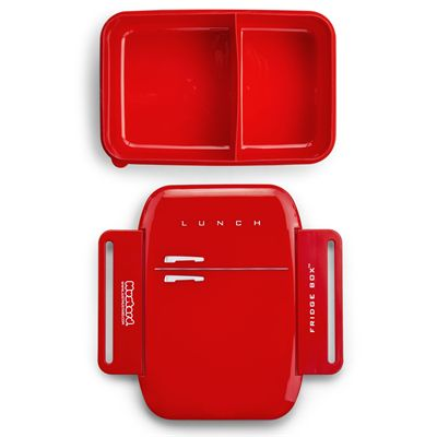 Mustard Fridge Shaped Lunch Box1