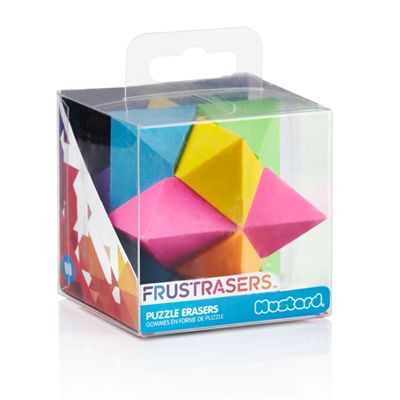 Mustard Frustrasers Cosmo Puzzle Erasers-Packaging