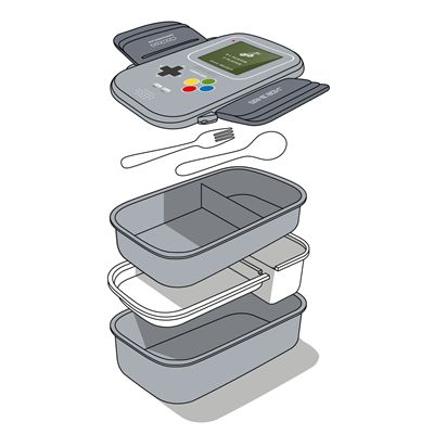 Mustard Game Console Shaped Bento Box - Image 3