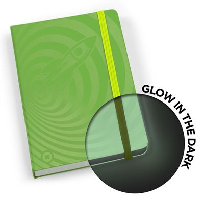 Mustard Glowbook Notebook - Green