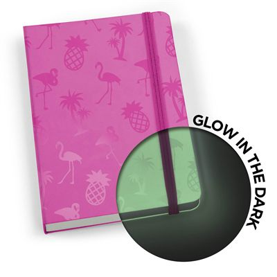 Mustard Glowbook Notebook - Pink