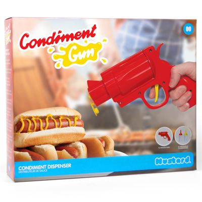 Mustard Gun Shaped Condiment Dispenser - Image 2