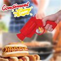 Mustard Gun Shaped Condiment Dispenser