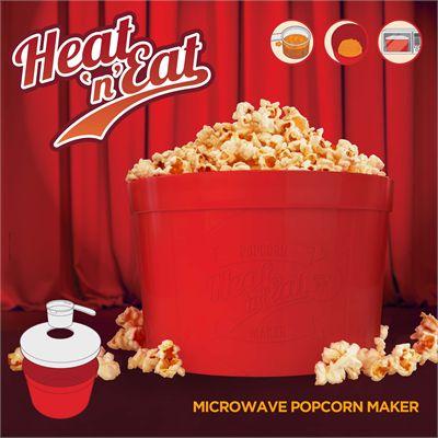 Mustard Heat n Eat Microwave Popcorn Maker - Image 1