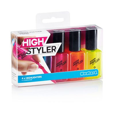 Mustard High Styler Highlighters-Packaging