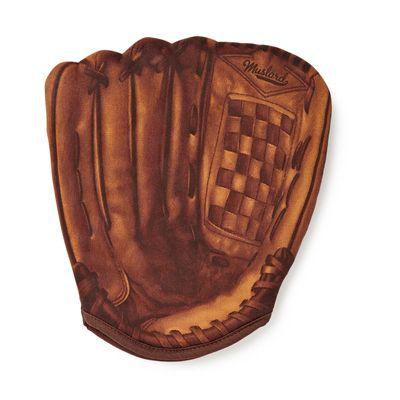 Mustard Home Run Baseball Oven Glove-Image