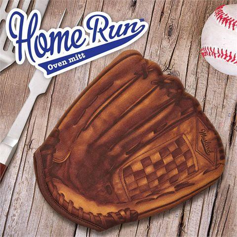 Mustard Home Run Baseball Oven Glove