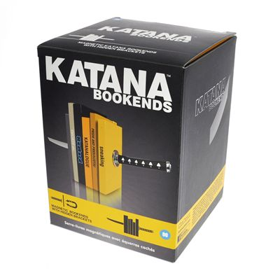 Mustard Katana Bookends-Box