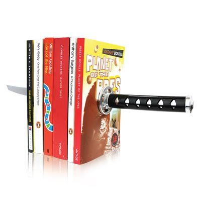 Mustard Katana Bookends