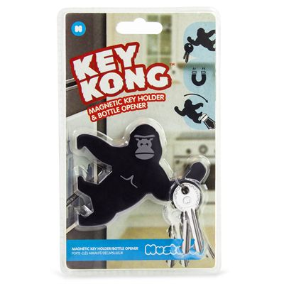 Mustard Key Kong Magnetic Key Holder and Bottle Opener - Packaging