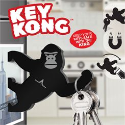Mustard Key Kong Magnetic Key Holder and Bottle Opener
