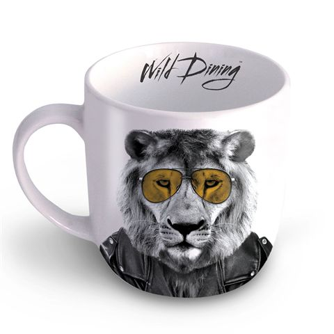 Mustard Lion Wild Dining Mug