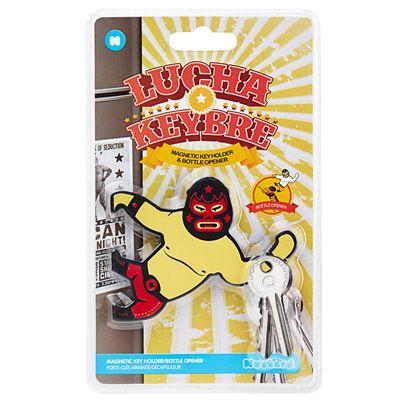 Mustard Lucha Keybre Magnetic Key Holder and Bottle Opener - Packaging