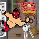 Mustard Lucha Keybre Magnetic Key Holder and Bottle Opener