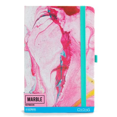Mustard Marble Notebook