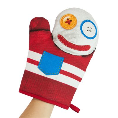 Mustard Mc Gloven Puppet Shaped Oven Glove - Image 2