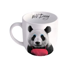 Mustard Panda Wild Dining Mug