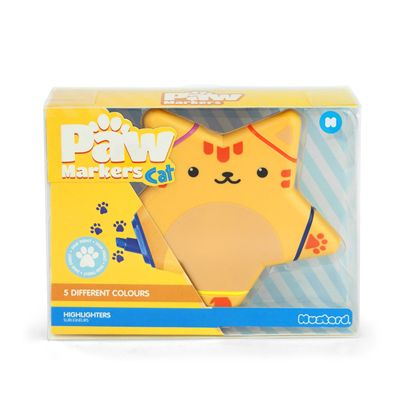 Mustard Paw Markers Cat Highlighter-Box