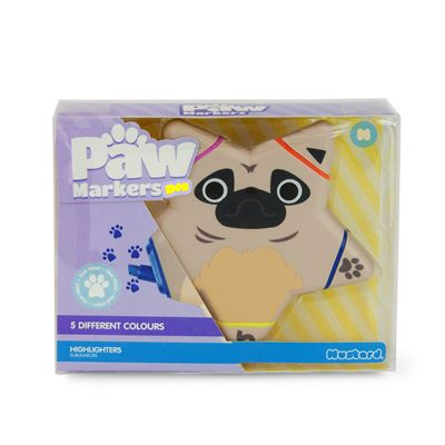 Mustard Paw Markers Dog Highlighter-Box