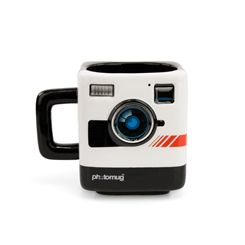 Mustard Photomug Retro Camera Shaped Mug