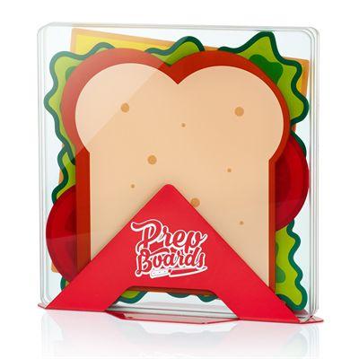 Mustard Prep Boards Sandwich - Set of 4 - Image 1