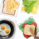 Mustard Prep Boards Sandwich - Set of 4 - Image 2