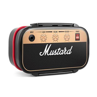 Mustard Rockbox Guitar Amplifier Shaped Bento Box
