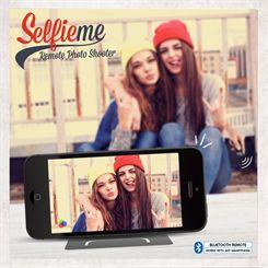 Mustard Selfieme Bluetooth Remote Photo Shutter