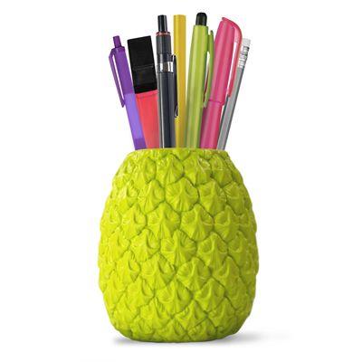 Mustard Seriously Tropical Pen Pot - Green
