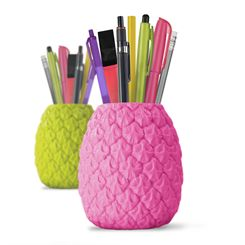 Mustard Seriously Tropical Pen Pot
