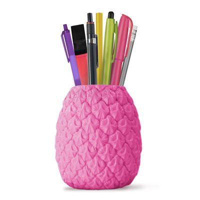 Mustard Seriously Tropical Pen Pot - Pink