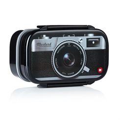 Mustard Shutterbox Camera Shaped Bento Box