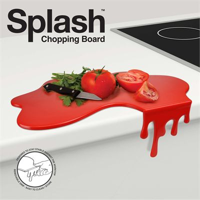 Mustard Splash Chopping Board-Main Image