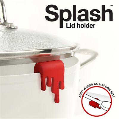 Mustard Splash Lid Holder